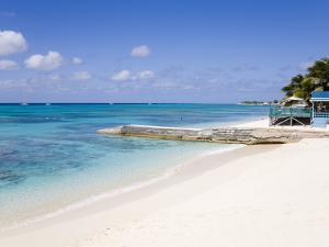 Cedar Grove Beach, Cockburn Town, Grand Turk Island, Turks and Caicos Islands, West Indies by Richard Cummins