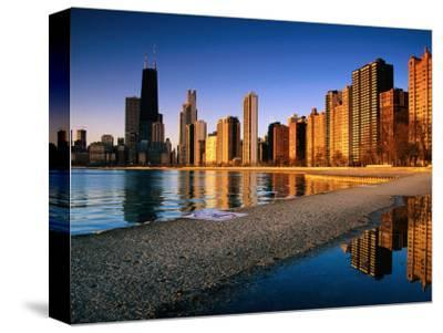 City Skyline from North Avenue Beach, Chicago, United States of America