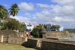 City Walls in Old San Juan, Puerto Rico, West Indies, Caribbean, Central America by Richard Cummins