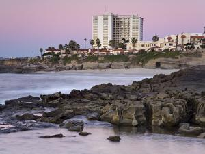 Coastline at Sunset, La Jolla, San Diego County, California, USA by Richard Cummins