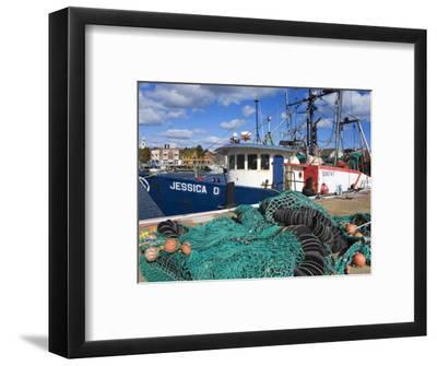 Commercial Fishing Boat, Gloucester, Cape Ann, Greater Boston Area, Massachusetts, New England, USA