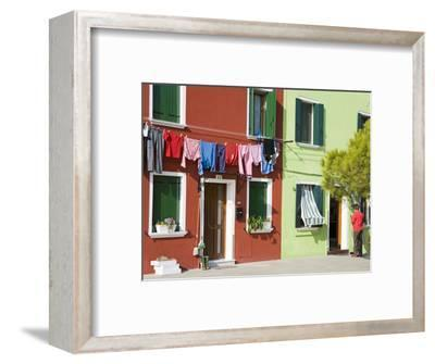 Corte Novello on Burano Island, Venice, Veneto, Italy, Europe