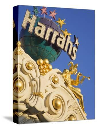Detail of Harrah's Casino, Las Vegas, Nevada, United States of America, North America