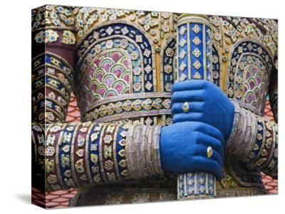Detail of Viruncamban Statue, Royal Grand Palace, Rattanakosin District, Bangkok, Thailand, Asi