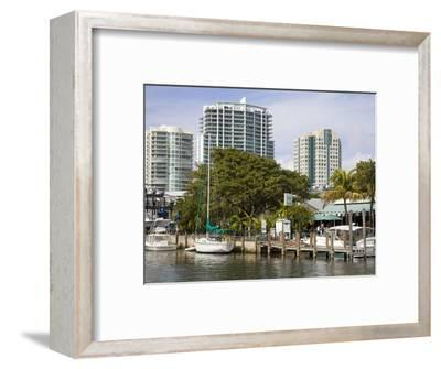 Dinner Key Marina in Coconut Grove, Miami, Florida, United States of America, North America