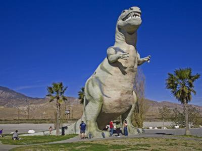 Dinosaur Roadside Attraction at Cabazon, Greater Palm Springs Area, California, USA by Richard Cummins