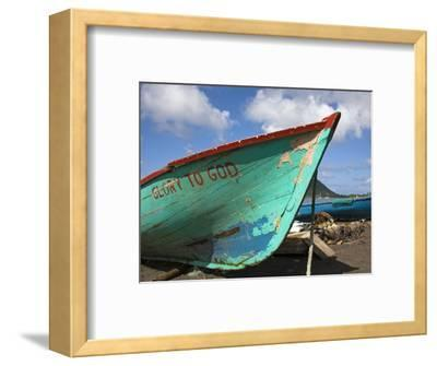 Fishing Boat, Prince Rupert Bay, Portsmouth, Dominica, Windward Islands, West Indies