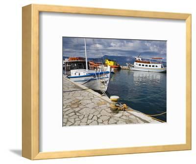 Fishing Boats in Corfu, Ionian Islands, Greek Islands, Greece, Europe