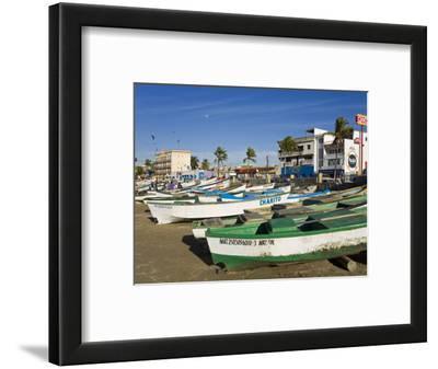 Fishing Boats on Playa Norte, Mazatlan, Sinaloa State, Mexico, North America