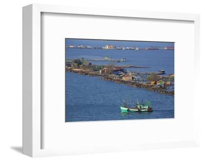 Fishing Village in Sihanoukville Port, Sihanouk Province, Cambodia, Indochina, Southeast Asia, Asia