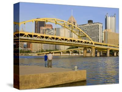 Fort Duquesne Bridge over the Allegheny River, Pittsburgh, Pennsylvania, United States of America,