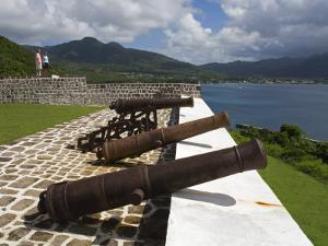 Fort Shirley in Cabrits National Park, Portsmouth, Dominica, Windward Islands, West Indies by Richard Cummins