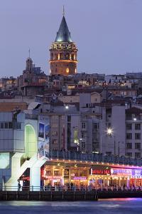 Galata Bridge, Istanbul, Turkey, Europe by Richard Cummins