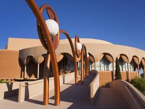 Gammage Auditorium, Architect Frank Lloyd Wright State University, Tempe, Greater Phoenix Area by Richard Cummins