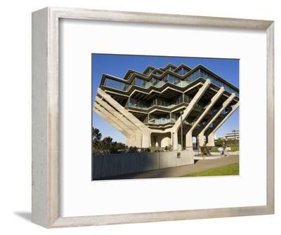Geisel Library in University College San Diego, La Jolla, California, USA