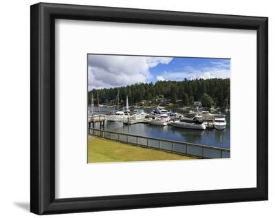 Gig Harbor Marina, Tacoma, Washington State, United States of America, North America