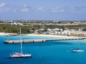 Governor's Beach on Grand Turk Island, Turks and Caicos Islands, West Indies, Caribbean by Richard Cummins