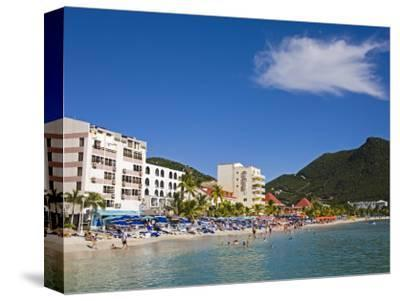 Great Bay Beach, Philipsburg, St. Maarten, Netherlands Antilles, West Indies