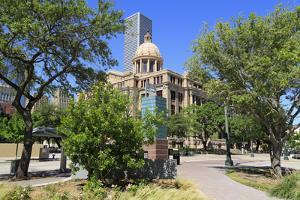 Harris County 1910 Courthouse, Houston,Texas, United States of America, North America by Richard Cummins