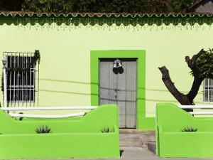 House in Pampatar City, Isla Margarita, Nueva Esparta State, Venezuela, South America by Richard Cummins