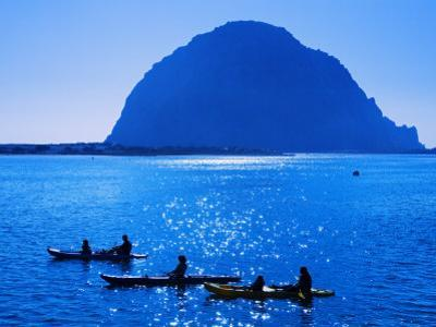 Kayak Rental and Morro Rock, City of Morro Bay, San Luis Obispo County, California, USA