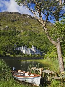 Kylemore Abbey and Kylemore Lough by Richard Cummins
