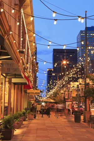 Larimer Square, Denver, Colorado, United States of America, North America by Richard Cummins