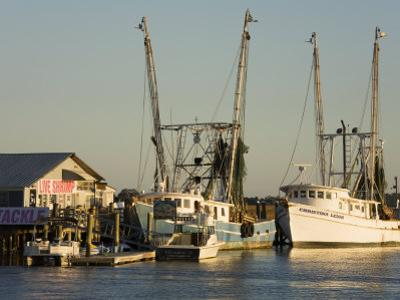 Lazaretto Creek Fishing Port, Tybee Island, Savannah, Georgia by Richard Cummins
