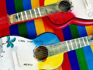 Locally-Crafted Guitars, Cabo San Lucas, Baja California Sur, Mexico by Richard Cummins