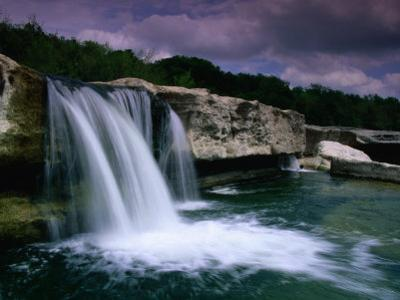 Lower Mckinney Falls, Texas by Richard Cummins