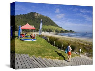 Main Beach in Mount Maunganui, Tauranga City, North Island, New Zealand, Pacific