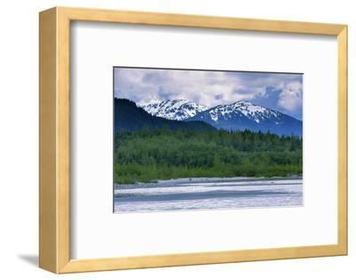 Mendenhall Glacier Lake, Juneau, Alaska, United States of America, North America