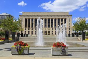 Metro Courthouse Public Square, Nashville, Tennessee, United States of America, North America by Richard Cummins