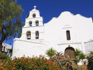 Mission Basilica San Diego De Alcala, San Diego, California by Richard Cummins
