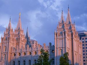 Mormon Temple in Temple Square, Salt Lake City, Utah, United States of America, North America by Richard Cummins