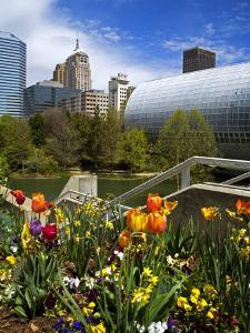 Myriad Botanical Gardens, Downtown Oklahoma City, Oklahoma, United States of America, North America by Richard Cummins