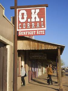 O.K. Corral, Tombstone, Cochise County, Arizona, United States of America, North America by Richard Cummins