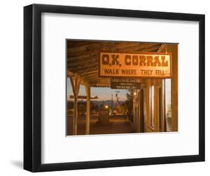 O.K. Corral, Tombstone, Cochise County, Arizona, United States of America, North America by Richard Cummins