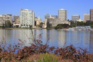 Oakland Skyline and Lake Merritt, Oakland, California, United States of America, North America by Richard Cummins