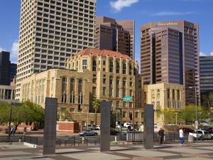 Old City Hall, Phoenix, Arizona, United States of America, North America by Richard Cummins