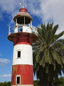 Old Lighthouse, Deep Water Harbour, St. Johns, West Indies, Caribbean by Richard Cummins
