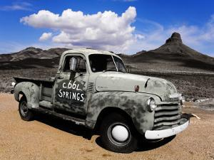 Old Truck at Cool Springs by Richard Cummins