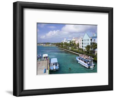 Paradise Island Ferry Terminal, Nassau City, New Providence Island, Bahamas, West Indies