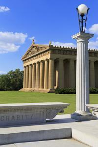 Parthenon in Centennial Park, Nashville, Tennessee, United States of America, North America by Richard Cummins