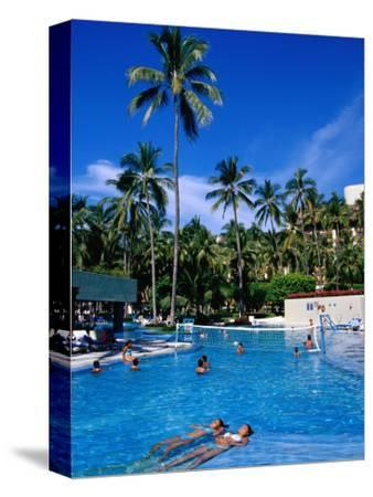 People in Pool, Melia Resort, Puerto Vallarta, Mexico