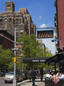 Pete's Tavern on Irving Place, Gramercy Park District, Manhattan, New York City, Ny, USA by Richard Cummins