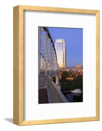 Pinnacle Tower and Shelby Pedestrian Bridge