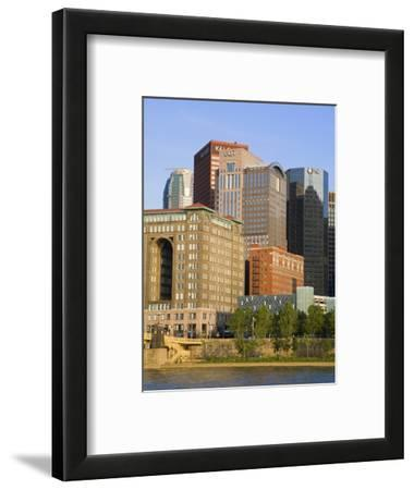 Pittsburgh Skyline and the Allegheny River, Pittsburgh, Pennsylvania, United States of America, Nor