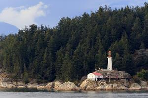 Point Atkinson Lighthouse, Vancouver, British Columbia, Canada, North America by Richard Cummins