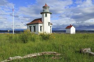 Point Wilson Lighthouse by Richard Cummins